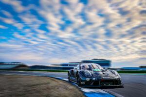 Porsche 911 RSR Test Hockenheim