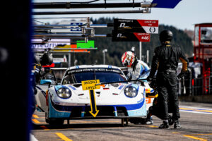 AUTO - FIA WEC - PROLOGUE SPA-FRANCORCHAMPS 2021 Porsche 911 RSR, Team Project 1 (#56), Egidio Perfetti (N), Matteo Cairoli (I), Riccardo Pera (I)