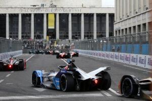Rome (ITA), 8th April - 11th April 2021. ABB FIA Formula E World Championship, Season 7, Rome E-Prix, Maximilian Günther (GER) #28 BMW iFE.21, BMW i Andretti Motorsport.