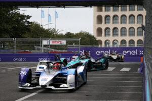 Rome (ITA), 8th April - 11th Aprih 2021. ABB FIA Formula E World Championship, Season 7, Rome E-Prix, Maximilian Günther (GER) #28 BMW iFE.21, BMW i Andretti Motorsport.