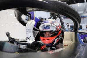 Valencia (ESP), 22nd April - 24th April 2021. ABB FIA Formula E World Championship, Season 7, Rome E-Prix, Jake Dennis (GBR) #27 BMW iFE.21, BMW i Andretti Motorsport.