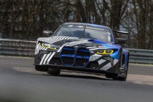 BMW M4 GT3, Nordschleife, test, Augusto Farfus, Jens Klingmann.