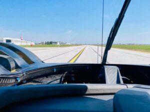 SCG 007 LMH Airfield Test