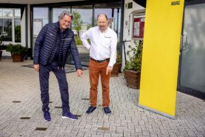 ADAC GT Masters, 1. + 2. Rennen Oschersleben 2021 - Motorsport Arena-Geschäftsführer Ralph Bohnhorst und Hermann Tomczyk