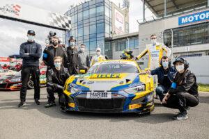 ADAC GT Masters, 1. + 2. Rennen Oschersleben 2021 - EFP:racing Audi R8 LMS GT3