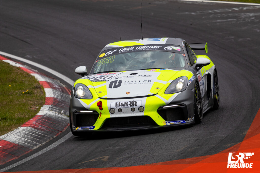 W&S Motorsport Porsche Cayman 718 GT4 NLS3 2021