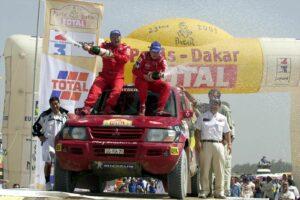 Jutta Kleinschmidt Rallye Dakar