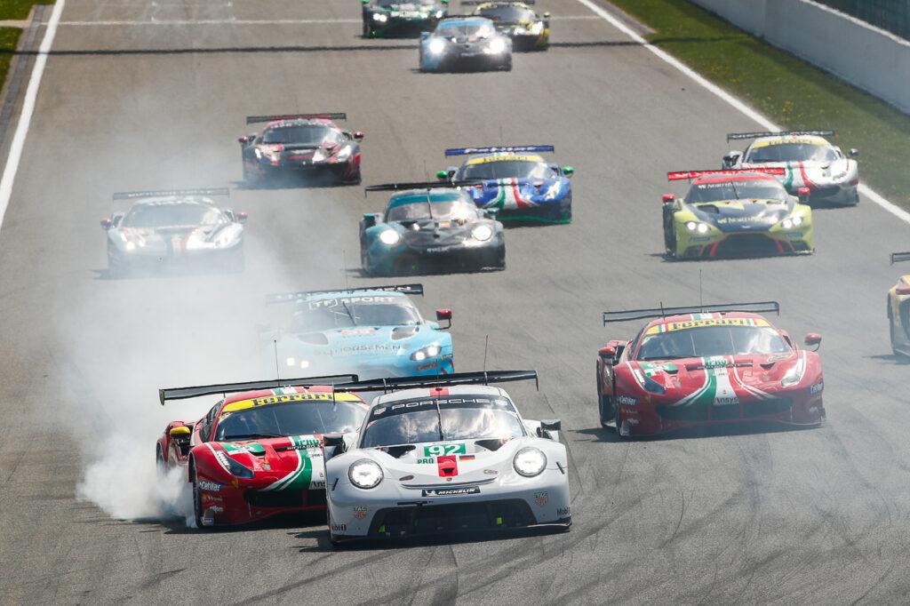 FIA WEC 6 Hours of Spa Porsche 911 RSR, Porsche GT Team (#92), Kevin Estre (F), Neel Jani (CH)