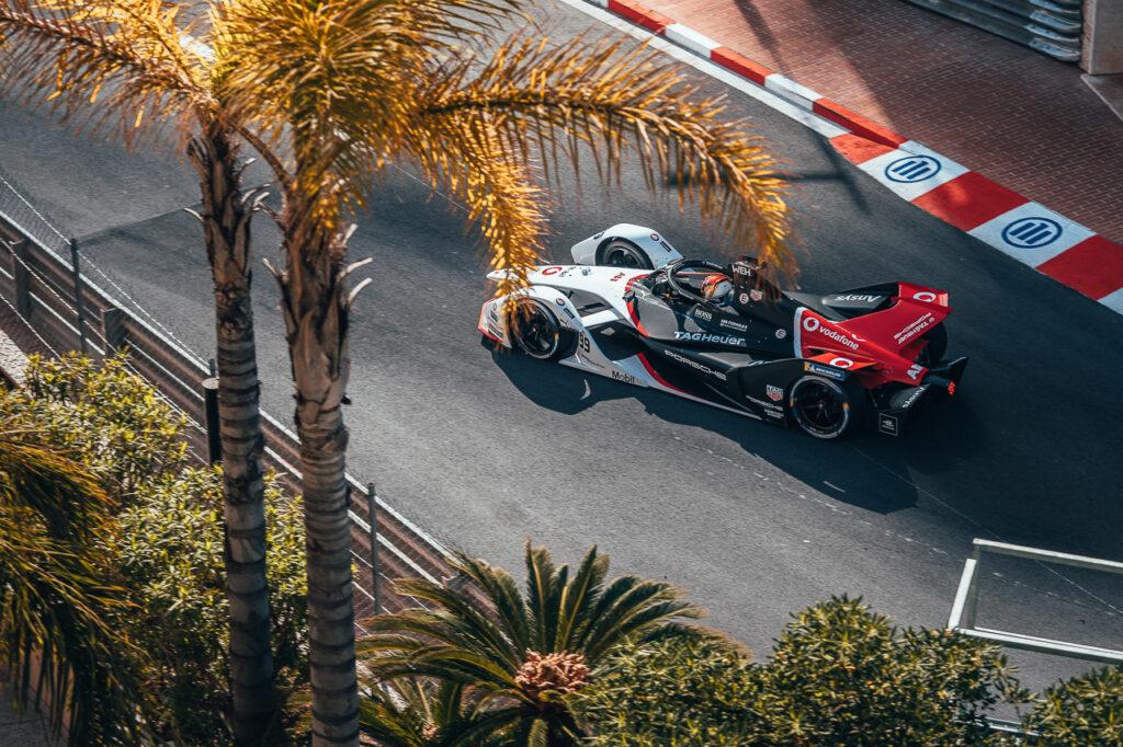 Porsche 99X Electric (#99), Pascal Wehrlein Formel E Monaco Monte Carlo