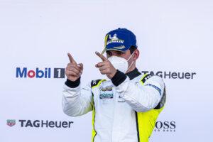 Podium: Ayhancan Güven (TR), Phoenix Racing, Porsche Carrera Cup Deutschland, Oschersleben 2021