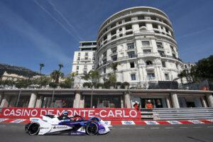 Monaco (MCO), 6th- 8th May 2021. ABB FIA Formula E World Championship, Season 7, Monaco E-Prix, Maximilian Günther (GER) #28 BMW iFE.21, BMW i Andretti Motorsport.
