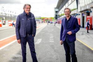 ADAC GT Masters, 1. + 2. Rennen Oschersleben 2021 - Hermann Tomczyk ADAC Sportpräsident Dr. Hans-Gerd Ennser