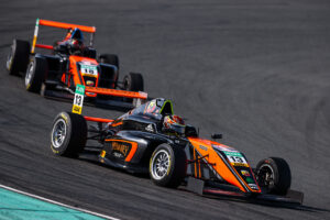 ADAC Formel 4, Testfahrten Oschersleben 2021 - Foto: Gruppe C Photography; #13 F4 Tatuus, Van Amersfoort Racing: Joshua Dufek