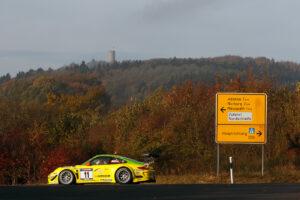 Motorsports / Porsche: Track Test auf dem Nürburgring