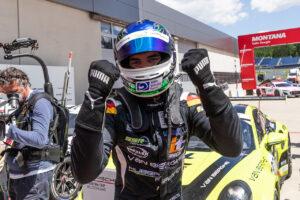 Porsche Carrera Cup Deutschland, Spielberg 2021 Podium: Laurin Heinrich (D), VAN BERGHE Huber Racing, Porsche Carrera Cup Deutschland, Red Bull Ring 2021