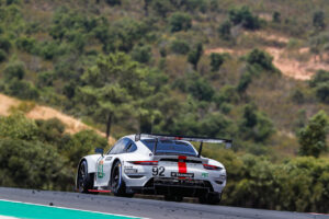 WEC 8h of Portimao 2021 Porsche 911 RSR, Porsche GT Team (#92), Kevin Estre (F), Neel Jani (CH), Michael Christensen (DK)